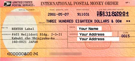 Please Don T Send This Green Money Order To Us One Which Says Postal Is Only Available In Usa